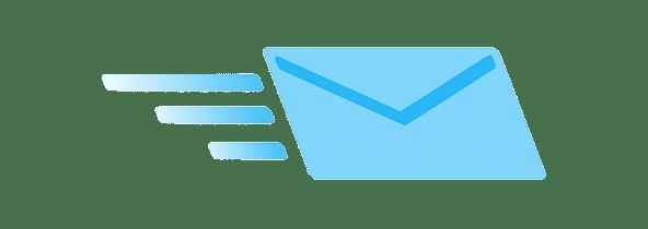 enveloppe envoie message